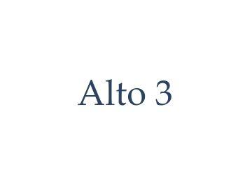 Alto 3 Default Text Logo