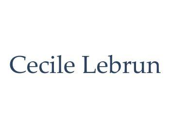 Cecile Lebrun Default Text Logo