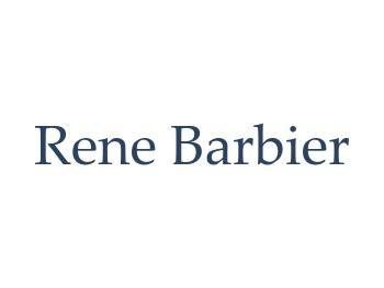 Rene Barbier Default Text Logo